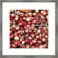 Nectarines And Pluots - 5d17905 Framed Print by Wingsdomain Art and Photography