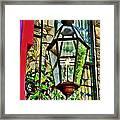 New Hope Gas Street Light Digital Painting Framed Print