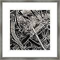 No More Plowing Framed Print