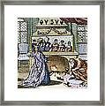 Nostradamus's Magic Mirror Framed Print