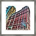 #ny #newyorker #architecture #broadway Framed Print