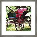 Old Coach In Effingham Framed Print