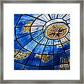 Old Map Of The Canary Islands Framed Print