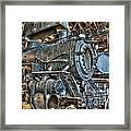 Old Steam Locomotive Framed Print