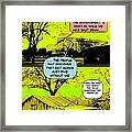 On The Bright Side 2 Agreement Framed Print
