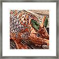 Orangeadillo Framed Print by Ken Williams