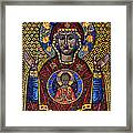 Orthodox Icon Of The Mosaic Framed Print