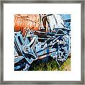 Out Of Gear Framed Print