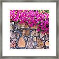 Over The Wall Framed Print