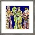 Pageant Couples Framed Print