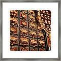 Palace Pharmacy Framed Print