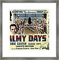 Palmy Days, Eddie Cantor, Charlotte Framed Print by Everett