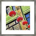 Paper Lanterns Framed Print