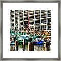 Parked Framed Print by Barry Jones