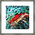 Parrot Magnet Framed Print