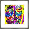 Pastel Man 19 Framed Print