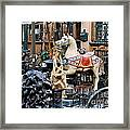Pawn Shop In San Miguel Mexico 1991 Framed Print