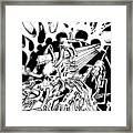 Pencil And Ink 38 2011 Framed Print