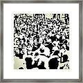 Peoples Extract  Framed Print