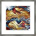 Permanent Waves Framed Print by Linda Sannuti
