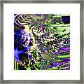 Phantasm . Square Framed Print by Wingsdomain Art and Photography