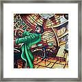 Piano Man 2 Framed Print