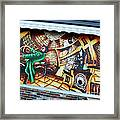 Piano Man 3 Framed Print