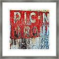 Picnic Ground Framed Print