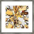Pieces Of Gold Framed Print