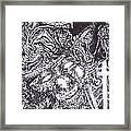 Pirate Monkey Squid Clam Framed Print