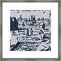 Plague, 1665 Framed Print