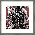Poker Vice And Playing Your Cards Too Right.  Framed Print