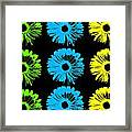 Pop Art Floral I Framed Print