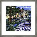 Portofino Framed Print by Lisa Reinhardt