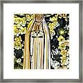 Pray For Us Framed Print