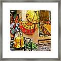 Pretty Shop In Provence Framed Print
