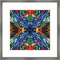 Primary Abstract I Design Framed Print