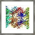 Proteasome, Molecular Model Framed Print