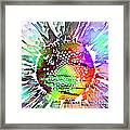 Psychedelic Daisy 2 Framed Print