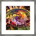 Psychedelic Daze Framed Print