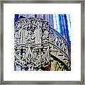 Pulpit St Stephens - Vienna Framed Print