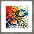 Purposeful Ichthus By Two Framed Print by J Vincent Scarpace