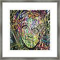 Queen Of My Own Domain Framed Print