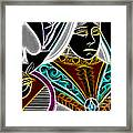 Queen Of Spades - V4 Framed Print by Wingsdomain Art and Photography