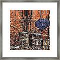 Rain In Marrakesh Framed Print by Chuck Kuhn