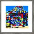 Rainbow Jug Building Framed Print by Samuel Sheats