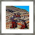 Red Rock Canyon California Framed Print