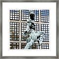 Reflecting Sculpture Framed Print
