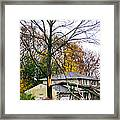 Ripping Limbs Framed Print