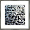 Ripples On Big Water Framed Print